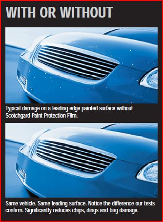 Paint Protection Film A Perfect Bumper